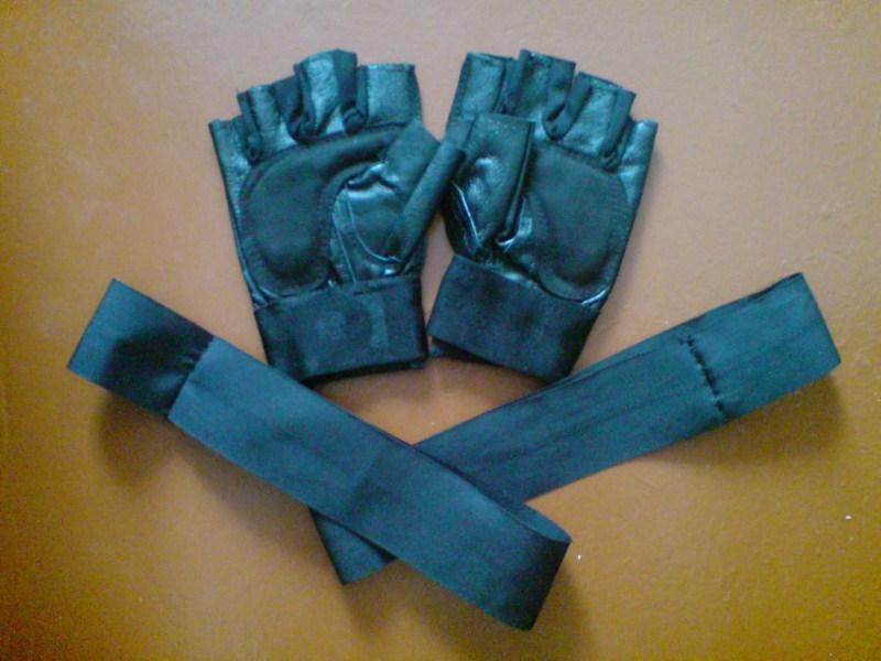 Перчатки для турника своими руками